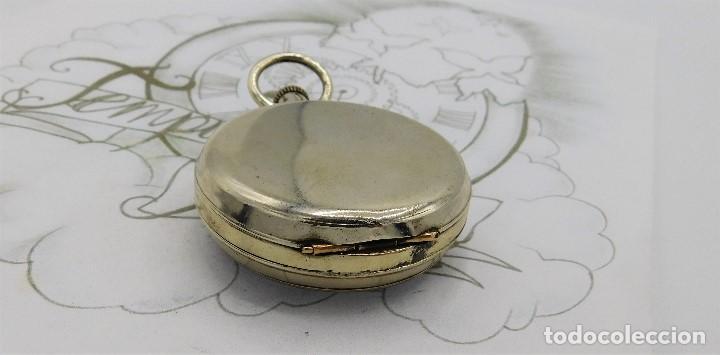 Relojes de bolsillo: GIGANTE RELOJ DE BOLSILLO DOXA(65 MM.)-CIRCA 1910-FUNCIONANDO - Foto 11 - 166890132