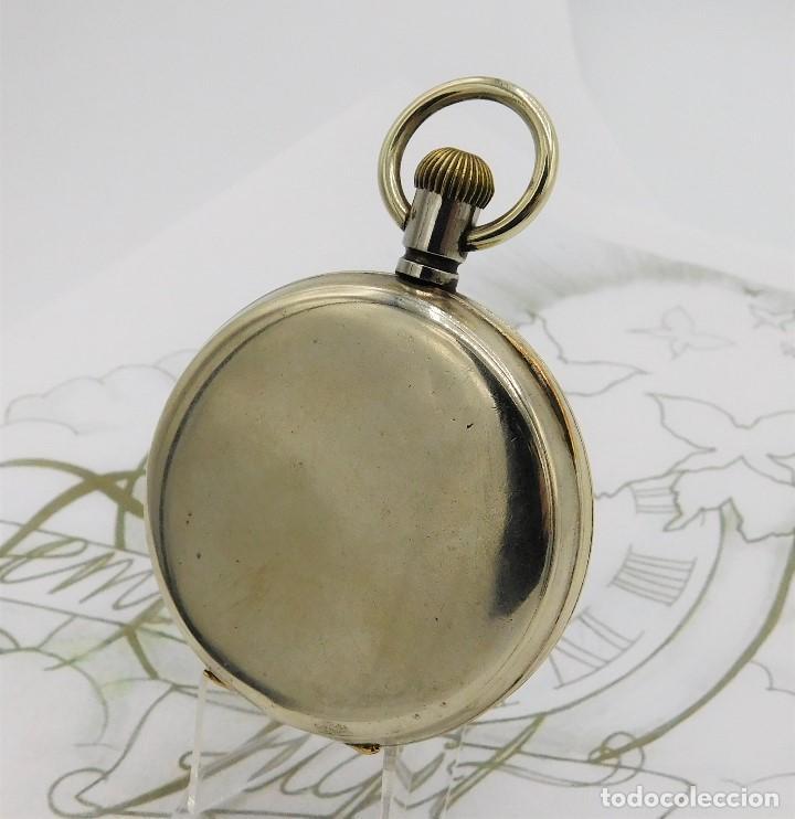 Relojes de bolsillo: GIGANTE RELOJ DE BOLSILLO DOXA(65 MM.)-CIRCA 1910-FUNCIONANDO - Foto 2 - 166890132
