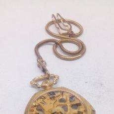 Relojes de bolsillo: RELOJ DE BOLSILLO CARGA MANUAL. Lote 166947386