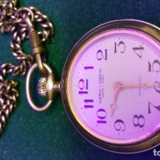 Relojes de bolsillo: RELOJ BOLSILLO CUERVO Y SOBRINO. Lote 167063192