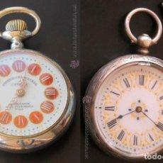 Relojes de bolsillo: DOS RELOJES DE BOLSILLO EN BUEN ESTADO DE FUNCIONAMIENTO. Lote 167125721