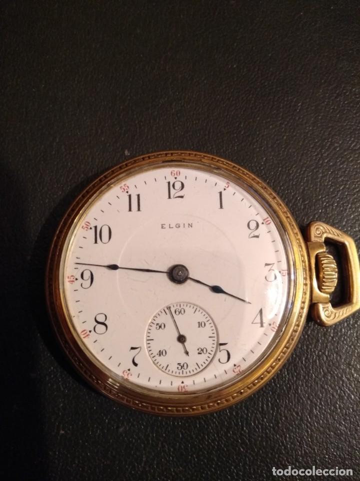 RELOJ DE BOLSILLO ELGIN U.S.A. (Relojes - Bolsillo Carga Manual)