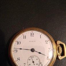 Relojes de bolsillo: RELOJ DE BOLSILLO ELGIN U.S.A.. Lote 167297044
