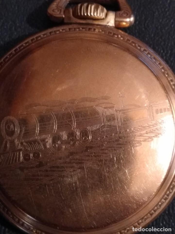 Relojes de bolsillo: Reloj de bolsillo ELGIN U.S.A. - Foto 7 - 167297044