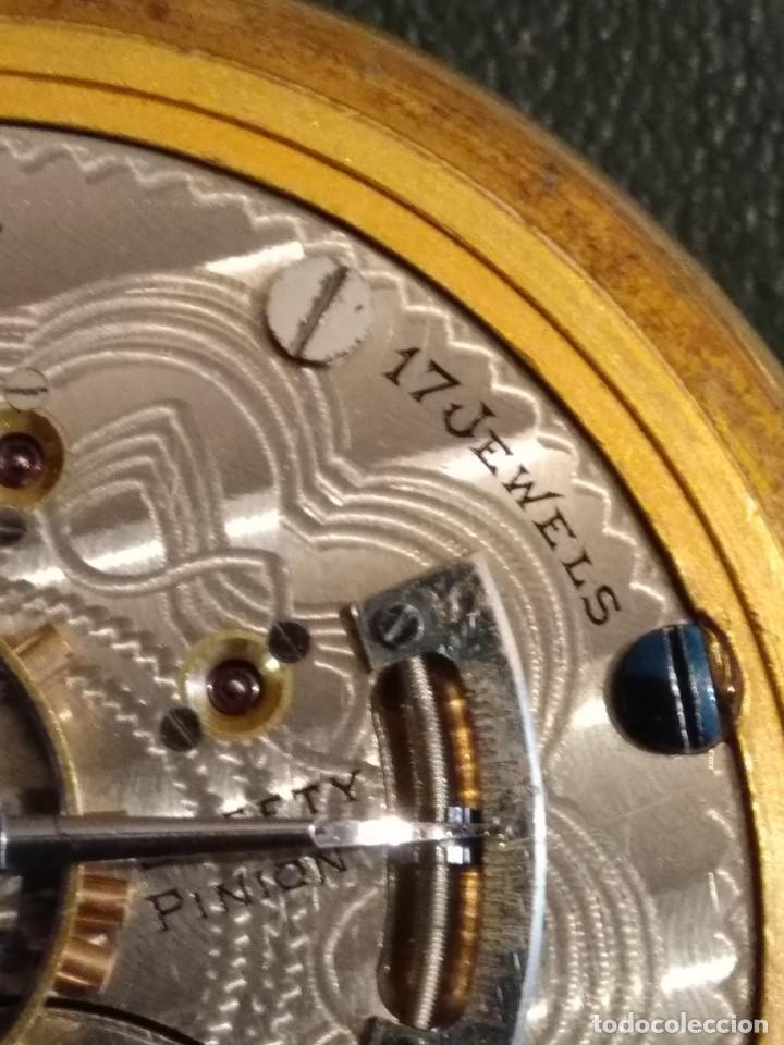 Relojes de bolsillo: Reloj de bolsillo ELGIN U.S.A. - Foto 10 - 167297044