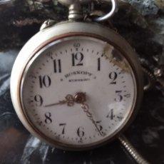 Relojes de bolsillo: RELOJ ( MUY BUSCADO, ROSKOPF SUPREMO 45 MM ( MÁS EN MÍ PERFIL ). Lote 167470733