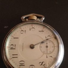 Relojes de bolsillo: RELOJ DE BOLSILLO WALTHAM USA P.S. BARTLETT. Lote 167572692
