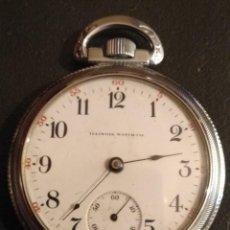 Relojes de bolsillo: RELOJ DE BOLSILLO ILLINOIS USA. Lote 167577668