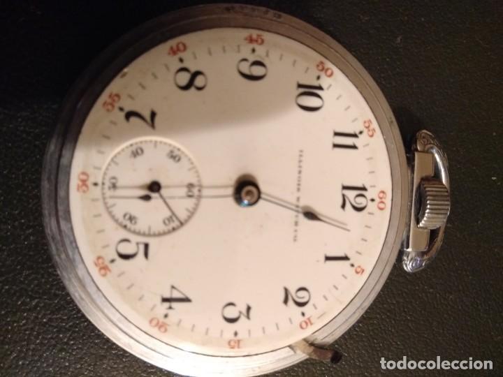 Relojes de bolsillo: Reloj de bolsillo ILLINOIS USA - Foto 7 - 167577668