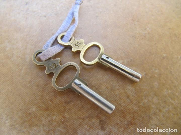 Relojes de bolsillo: LLAVES PARA RELOJES DE BOLSILLO DE LLAVE - Foto 4 - 167631252