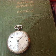 Relojes de bolsillo: RELOJ BOLSILLO DE PLATA ELIDA WATCH. FINO Y EXACTO.. Lote 167808944
