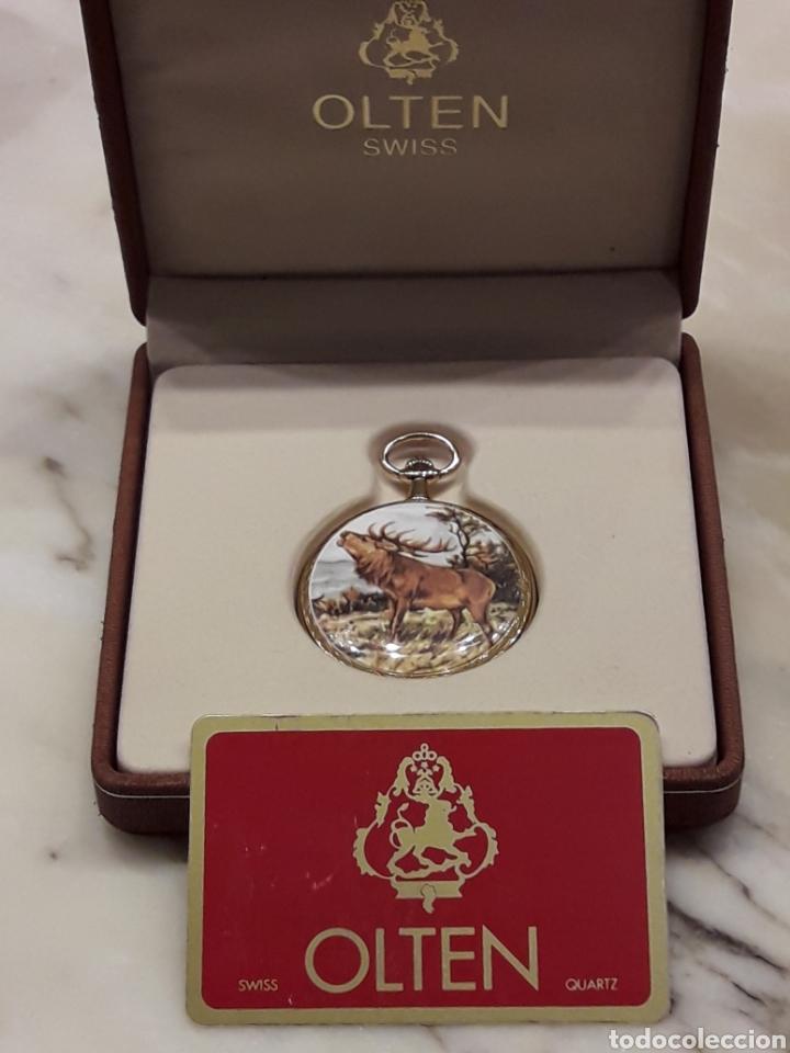 Suizo Olten Reloj Bolsillo Comprar De Marca Relojes Antiguos 54ALRj