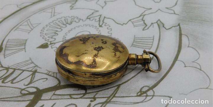Relojes de bolsillo: MUY ANTIGUO-RELOJ DE BOLSILLO-DE PLATA-CATALINO-CIRCA 1700-1730-FUNCIONANDO - Foto 5 - 168116256
