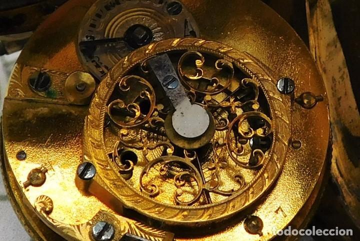 Relojes de bolsillo: MUY ANTIGUO-RELOJ DE BOLSILLO-DE PLATA-CATALINO-CIRCA 1700-1730-FUNCIONANDO - Foto 6 - 168116256