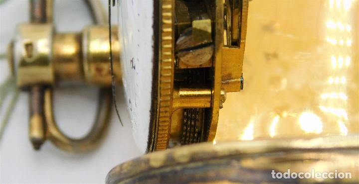 Relojes de bolsillo: MUY ANTIGUO-RELOJ DE BOLSILLO-DE PLATA-CATALINO-CIRCA 1700-1730-FUNCIONANDO - Foto 14 - 168116256