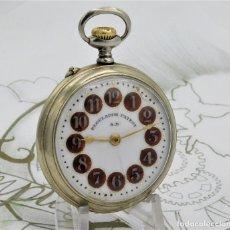 Relojes de bolsillo: REGULADOR PATENT-PRECIOSO RELOJ DE BOLSILLO ROSKOPF-CIRCA 1900 -FUNCIONANDO. Lote 168302120