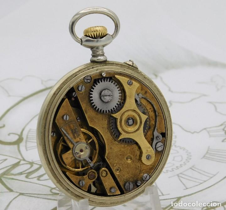 Relojes de bolsillo: REGULADOR PATENT-PRECIOSO RELOJ DE BOLSILLO ROSKOPF-CIRCA 1900 -FUNCIONANDO - Foto 2 - 168302120