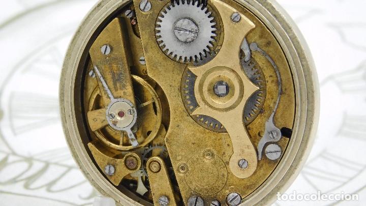 Relojes de bolsillo: REGULADOR PATENT-PRECIOSO RELOJ DE BOLSILLO ROSKOPF-CIRCA 1900 -FUNCIONANDO - Foto 4 - 168302120