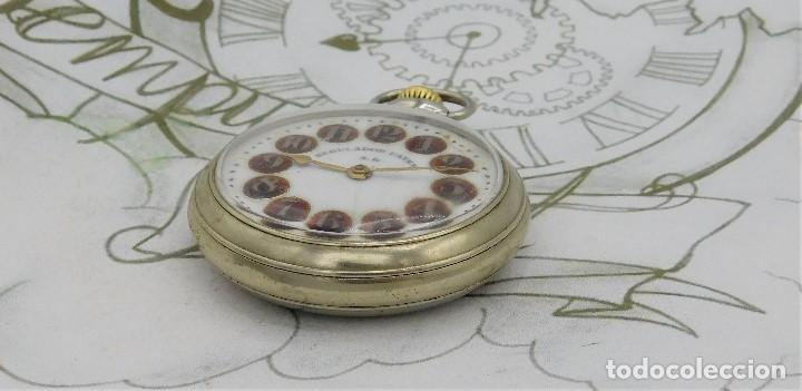 Relojes de bolsillo: REGULADOR PATENT-PRECIOSO RELOJ DE BOLSILLO ROSKOPF-CIRCA 1900 -FUNCIONANDO - Foto 9 - 168302120