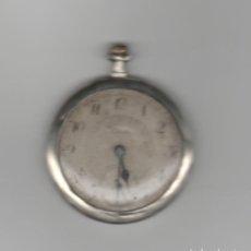Relojes de bolsillo: RELOJ OSIRIS-DIAMETRO 50 MM-DE PLATA-FUNCIONA. Lote 168353484