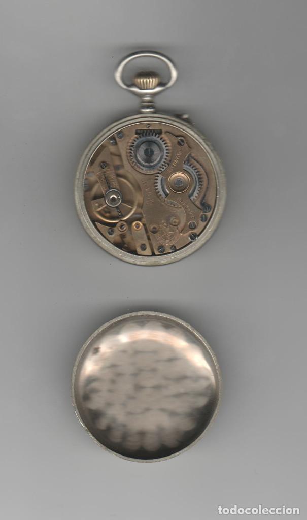 Relojes de bolsillo: RELOJ ROSKOPF-DIAMETRO 45 MM-RELOJERIA ENRIQUE ESTEBAN-VALLADOLID-A REVISAR - Foto 3 - 168353868