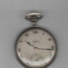 Relojes de bolsillo: RELOJ DOOR-DIAMETRO 45 MM-DE PLATA-A REVISAR. Lote 168354660
