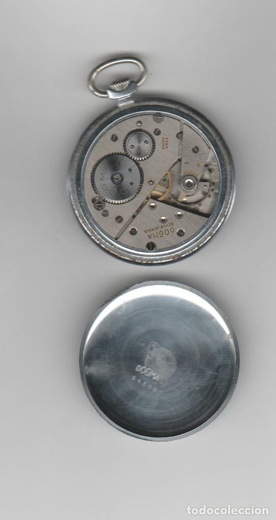 Relojes de bolsillo: RELOJ DOGMA- DIAMETRO 45 MM- A REVISAR - Foto 3 - 195364690