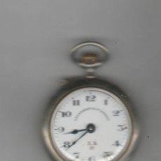 Relojes de bolsillo: RELOJ A.ROSSKOPF & CIA- DIAMETRO 40 MM-A REVISAR. Lote 168364372