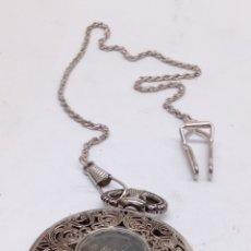 Relojes de bolsillo: RELOJ DE BOLSILLO CARGA MANUAL. Lote 168430545