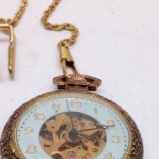 Relojes de bolsillo: RELOJ DE BOLSILLO CARGA MANUAL. Lote 168431537