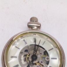 Relojes de bolsillo: RELOJ DE BOLSILLO CARGA MANUAL. Lote 168436226