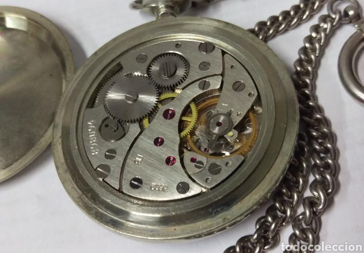 Relojes de bolsillo: RELOJ DE BOLSILLO THERMIDOR 18 RUBIS MADE IN USSR FUNCIONANDO - Foto 7 - 168474797