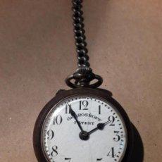 Relojes de bolsillo: RELOJ DE BOLSILLO ANTIGUO,GRE ROSKOPF PATENT, NO FUNCIONA. Lote 168503432
