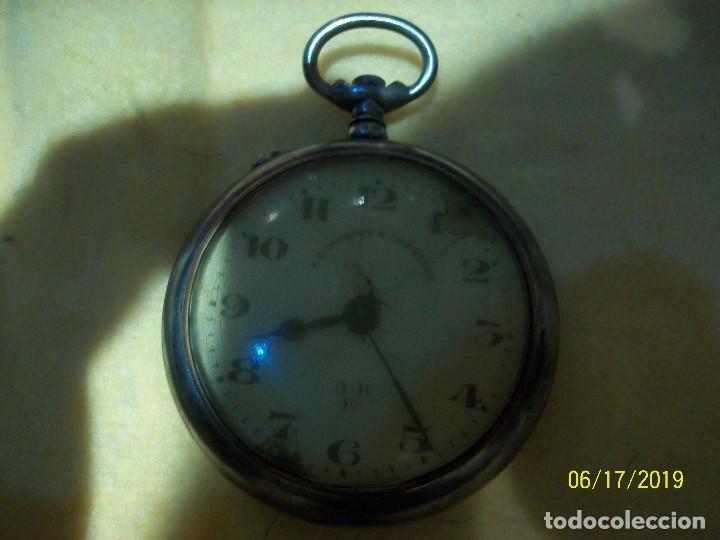 Relojes de bolsillo: RELOJ ROSKOPF-DIAMETRO 50 MM-A REVISAR - Foto 2 - 168517976