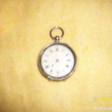 Relojes de bolsillo: ANTIGUO RELOJ DE PLATA-DIAMETRO 35 MM-A REVISAR. Lote 168589940