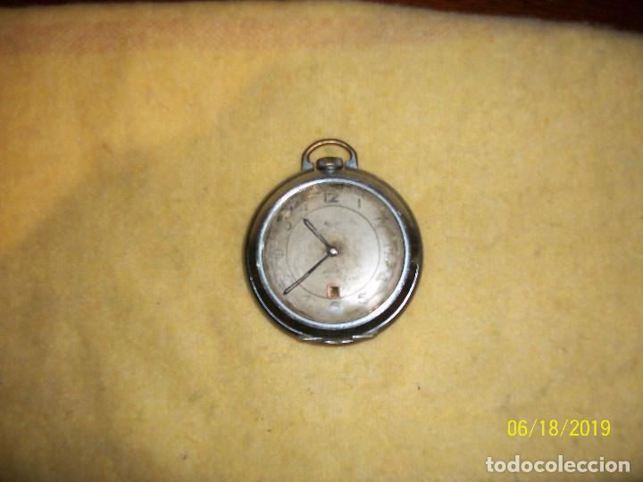 RELOJ ALEMAN- DIAMETRO 50 MM-RARO- A REVISAR (Relojes - Bolsillo Carga Manual)