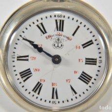 Relojes de bolsillo: IMPRESIONANTE RELOJ BOLSILLO PERFECTO ESTÉTICA Y FUNCIONAL. Lote 168647680