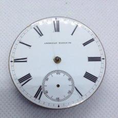 Relojes de bolsillo: MAQUINARIA RELOJ BOLSILLO WALTHAM AÑO 1891. Lote 168967756