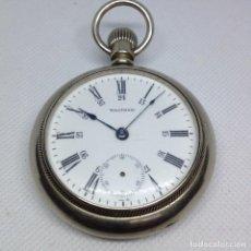Relojes de bolsillo: GRAN RELOJ BOLSILLO WALTHAM, PARA REPARAR. Lote 168995372