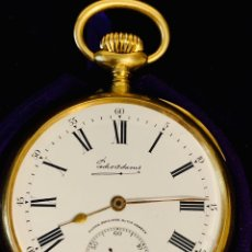 Relojes de bolsillo: RELOJ PATEK PHILIPPE GONDOLO ORO 18K BOLSO. Lote 169084793