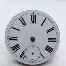 Relojes de bolsillo: ANTIGUA MAQUINARIA RELOJ DE BOLSILLO- WALTHAM AÑO 1896/97. Lote 169226356