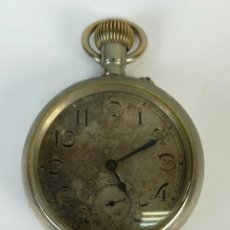 Relojes de bolsillo: RELOJ DE BOLSILLO. G. FRAVRE-JACOT. CAJA DE METAL PLATEADO. SIGLO XX. TURQUÍA. Lote 169397764