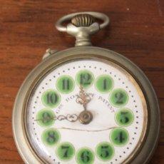 Relojes de bolsillo: RELOJ DE BOLSILLO ROSKOPF. SWISS MADE. HECHO EN SUIZA. FUNCIONA, SUENA CUERDA. Lote 169413852
