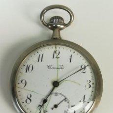 Relojes de bolsillo: RELOJ DE BOLSILLO. CERVANTES. SIGLO XX. SUIZA. Lote 169632692