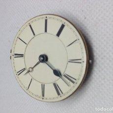 Relojes de bolsillo: MAQUINARIA RELOJ DE BOLSILLO, VERGE FUSEE ( CATALINA). Lote 169714768