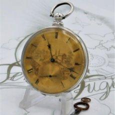 Relojes de bolsillo: COOPER & Cº-CON ESFERA EN ORO 14K-CIRCA 1860-1899-FUNCIONANDO. Lote 169749488