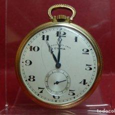 Relojes de bolsillo: RELOJ CRONÓMETRO CYMA. MEDIADOS SIGLO XX.. Lote 169816548