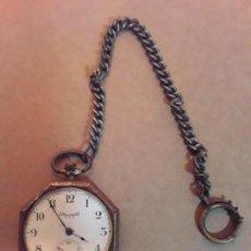Relojes de bolsillo: RELOJ DE BOLSILLO ANTIGUO,OCTOGONAL,STANDARDWATCH,NEW YORK. Lote 169820052
