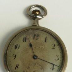Relojes de bolsillo: RELOJ DE BOLSILLO. CAJA DE METAL NIQUELADO. ZEDA WATCH Cº. SIGLO XX. SUIZA. Lote 169856088