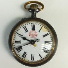 Relojes de bolsillo: RELOJ DE BOLSILLO. CAJA DE METAL NEGRA. PASSWANG GT. WALDENBURG.1926. Lote 169857760